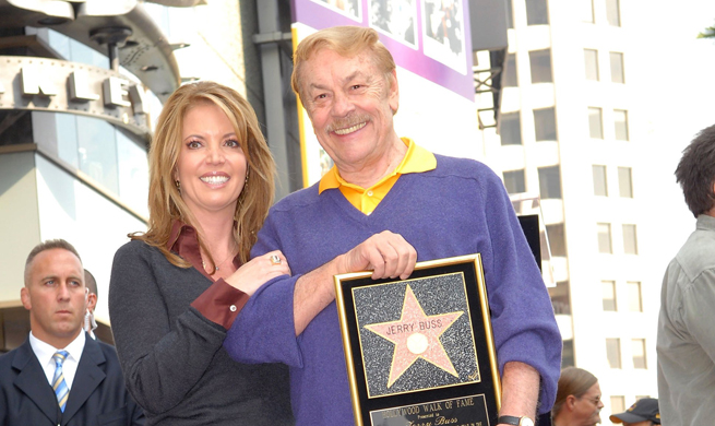 Jeanie-and-Dr.-Buss,-Hollywood-Walk-of-Fame